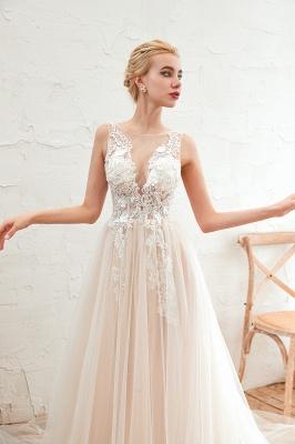 Schöne Hochzeitskleid A linie | Brautkleider Günstig Online Kaufen_15