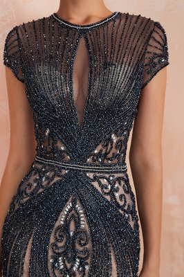 Prom Dresses Long Black | Evening dress with glitter_20