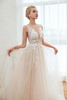 Schöne Hochzeitskleid A linie | Brautkleider Günstig Online Kaufen_18
