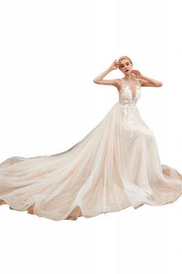 Schöne Hochzeitskleid A linie | Brautkleider Günstig Online Kaufen_1