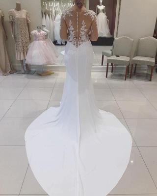Designer Hochzeitskleider Mit Spitze | Brautkleider Meerjungfrau Online_2