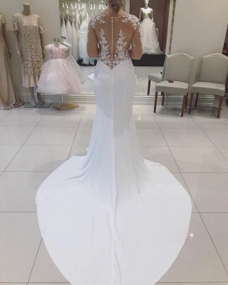 Designer Wedding Dresses With Lace | Mermaid wedding dresses online_2
