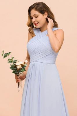 Lavender Brautjungfernkleider Große Größe | Chiffon Kleider Lang Günstig_8