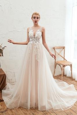 Schöne Hochzeitskleid A linie | Brautkleider Günstig Online Kaufen_9