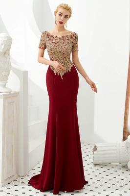 Abendkleider Lang Glitzer | Rote Abiballkleider Mit Ärmel_8