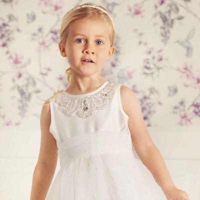 Blumenmädchenkleider für Kinder | Blumenmädchen Kleider Hochzeit_3