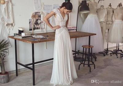 Design Hochzeitskleider Mit Spitze Günstig Etuikleid Brautkleider Online Bestellen_2