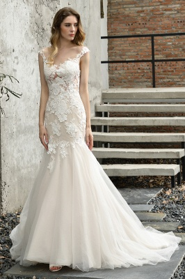 Gorgeous Wedding Dresses With Lace | Mermaid wedding dresses_2
