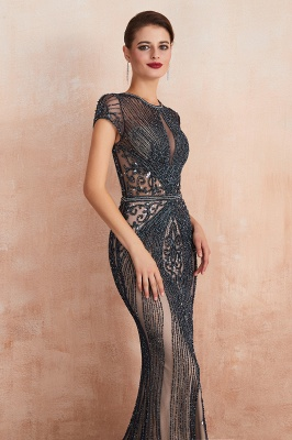 Prom Dresses Long Black | Evening dress with glitter_17
