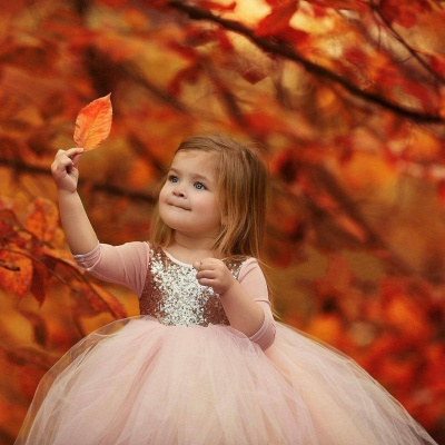 Flower girl dresses pink | Flower girl dresses for kids_4