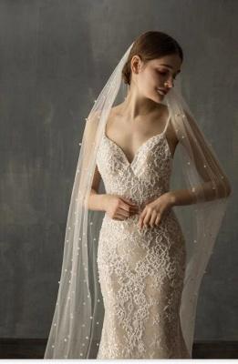 Brautschleier Lang Ivoty | Schleier Hochzeit