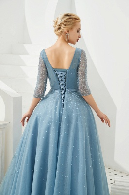 Evening dresses blue | Prom dresses long with sleeves_10