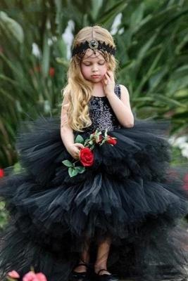 Beautiful Black Flower Girl Dresses | Flower girl dress long_1