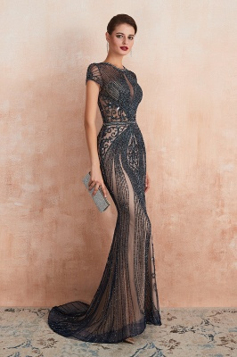 Prom Dresses Long Black | Evening dress with glitter_16