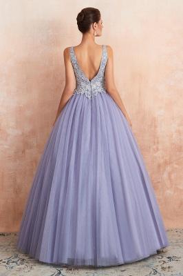 Designer Evening Dress Long V Neck | Evening wear online_6