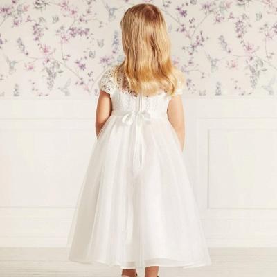 Blumenmädchen Kleider Lang Tüll | Blumenmädchenkleider für Kinder_2