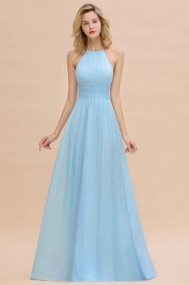 Brautjungfernkleider Lang Heller Blau | Kleider für Brautjungfern Günstig_1
