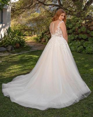 Elegante Hochzeitskleider Große Größe | Brautkleider Übergroße Online_2