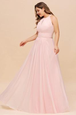 Rosa Brautjungfernkleider Große Größe   Übergroße Brautjungfernkleid_5