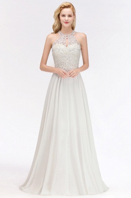 Evening dress long white | Prom Dresses Cheap Online_3