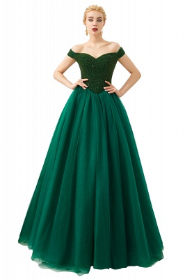 Evening dress long green | Prom Dresses Cheap Online_23