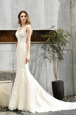 Modern wedding dress mermaid | Wedding dresses circumstance_8