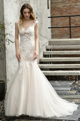 Gorgeous Wedding Dresses With Lace | Mermaid wedding dresses_4