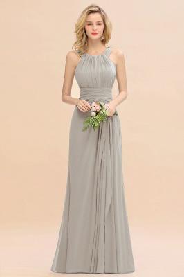 Brautjungfernkleider Lang Grün   Schlichtes Abendkleid Hochzeitspartykleider_4