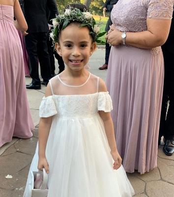Flower girl dresses wedding | Flower girl dress Ivory_2