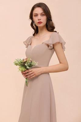 Champagne Brautjungfernkleider Lang | Günstiges Kleid Für Brautjungfern_6