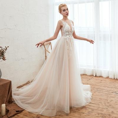 Schöne Hochzeitskleid A linie | Brautkleider Günstig Online Kaufen_12