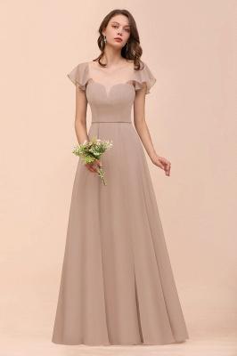 Champagne Brautjungfernkleider Lang | Günstiges Kleid Für Brautjungfern_8