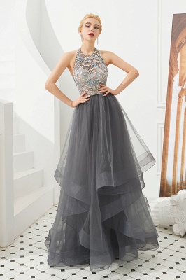 Long prom dresses with glitter | Evening wear online_2
