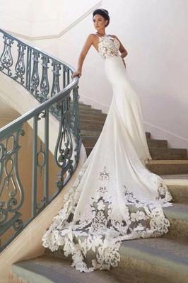 Brautkleid Meerjungfrau Vintage | Schön Hochzeitskleider mit Spitze_2