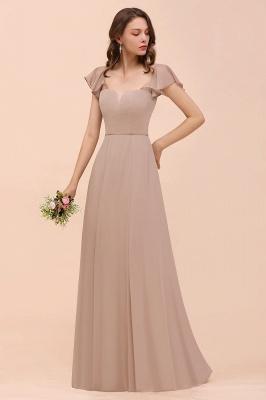 Champagne Brautjungfernkleider Lang | Günstiges Kleid Für Brautjungfern_7
