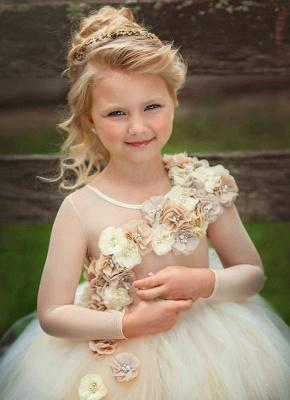 Blumenmädchenkleider Weiß | Blumenmädchen Kleider Kinder_2
