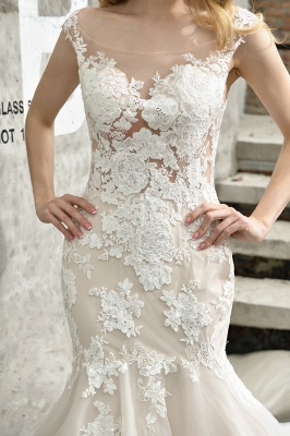 Gorgeous Wedding Dresses With Lace | Mermaid wedding dresses_12