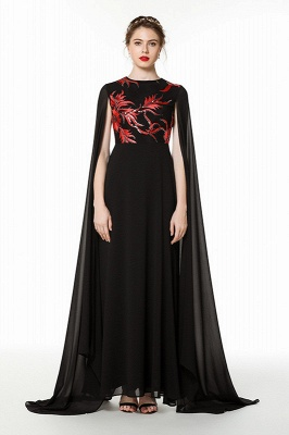 Beautiful Evening Dresses Long Black | Elegant dresses chiffon