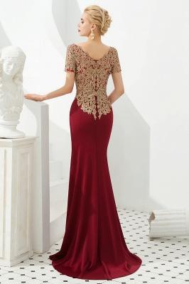 Abendkleider Lang Glitzer | Rote Abiballkleider Mit Ärmel_5