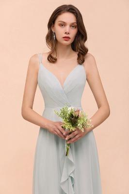 Brautjungfernkleider Lang Mint Grün | Hochzeitspartykleider Günstig Online_6