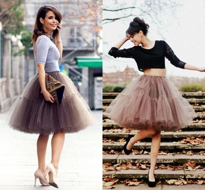 Crinoline Short A line | Petticoat wedding dress_20