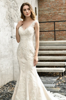 Modern wedding dress mermaid | Wedding dresses circumstance_10