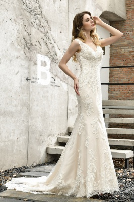 Modern wedding dress mermaid | Wedding dresses circumstance_9