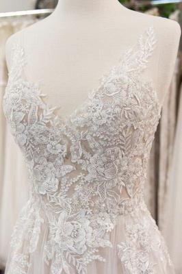 Wunderschöne Brautkleider Mit Spitze | Hochzeitskleid A Linie Online_4