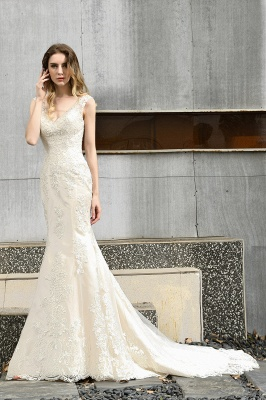 Modern wedding dress mermaid | Wedding dresses circumstance_5
