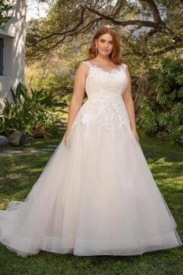Elegante Hochzeitskleider Große Größe | Brautkleider Übergroße Online_1