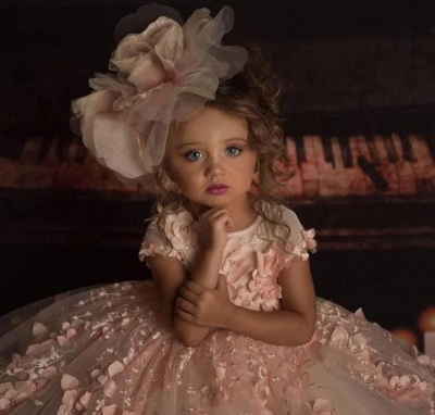 Flower girl dress dusty pink | Flower girl dresses for children_3