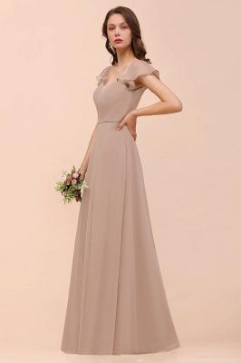 Champagne Brautjungfernkleider Lang | Günstiges Kleid Für Brautjungfern_4