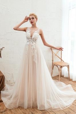 Schöne Hochzeitskleid A linie | Brautkleider Günstig Online Kaufen_3