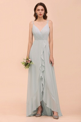 Brautjungfernkleider Lang Mint Grün | Hochzeitspartykleider Günstig Online_1